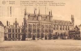 BRUGGE - Stadhuis - Heilig Bleid Basiliek - Brugge