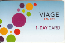 BELGIUM - Viage Casino, 1-Day Card, Used - Gift Cards