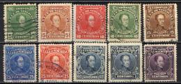 VENEZUELA - 1924 - EFFIGIE DI SIMON BOLIVAR - USATI - Venezuela