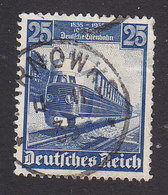 Germany, Scott #461, Used, Train, Issued 1935 - Used Stamps