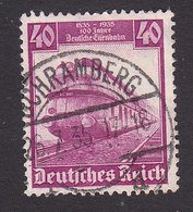 Germany, Scott #462, Used, Train, Issued 1935 - Used Stamps