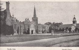 Original 1919 Nevill Holt Postcard - Harborough District Of Leicestershire England - Written - 2 Scans - England