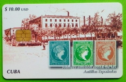 CUBA - Primera Emision Postal De Las Antillas Espanolas - Cuba