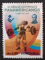 VENEZUELA 1983 The 9th Pan-American Games, Caracas. USADO - USED. - Venezuela