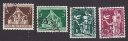 Germany, Scott #473-474, 478-479, Used, Nativity, Allegory Of Recreation, Issued 1936 - Used Stamps