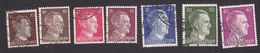 Germany, Scott #511A, 512-514, 518-520, Used, Hitler, Issued 1941 - Used Stamps