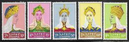Ethiopia, Scott # 415-9 MNH Empresses, 1964 - Ethiopia