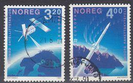 NORGE - 1991 - Serie Completa Di 2 Valori Usati: Yvert 1019/1020, Come Da Immagine. - Norwegen