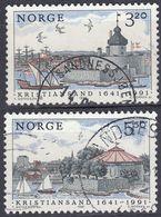 NORGE - 1991 - Serie Completa Di 2 Valori Usati: Yvert 1021/1022, Come Da Immagine. - Norwegen