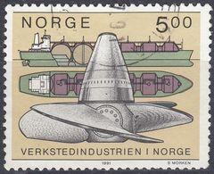 NORGE - 1991 - Yvert 1018, Usato, Come Da Immagine. - Norwegen