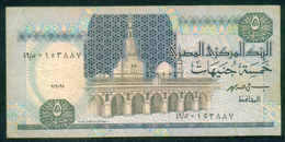 EGYPT / 5 POUNDS / DATE : 19-9-1995 / P- 59(2) / PREFIX : 49 / USED - Egipto