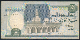 EGYPT / 5 POUNDS / DATE : 13-1-1992 / P- 59(1) / PREFIX : 31 / USED - Aegypten