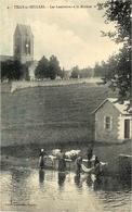 4- TILLY-sur-SEULLES - Les Lessivières à La Rivière -  Ed. Leprunier  - Lavandières - Altri Comuni