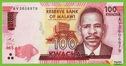 Voyo MALAWI 100 Kwacha 2014(2015) P65a B160a AV UNC College Of Medicine, Blantyre, Stetoscope - Malawi