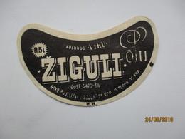 ESTONIA , OLD BEER LABEL , ZIGULI  VIRU   0,5  , 0 - Bière