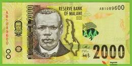 Voyo MALAWI 2000 Kwacha 2016 P69 B163a AB UNC Malawi University Of Science And Technology , Thyolo District - Malawi