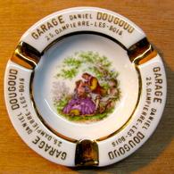 CENDRIER GARAGE DANIEL DOUGOUD 25 DAMPIERRE-LES-BOIS / LIMOGES FRANCE - Ashtrays