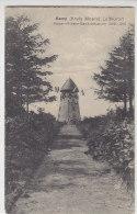 Kamp (Lintfort) Kreis Moers - Kaiser-Wilhelm-Gedächtnisturm - 1913 Bahnpost Duisburg-Cleve - Wesel