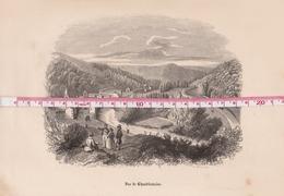 Chaudfontaine Vers 1850  Lithographie Originale - Prints & Engravings