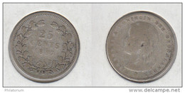 Pays Bas 25 Cents 1897 Nederland KM#115 - [ 3] 1815-… : Kingdom Of The Netherlands