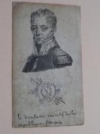 NAPOLEON ( Napoléon ) Le Directoire Exécutif De La Republique Française.... Vieux Papier 8 X 14 Cm. ( Imp. Bruxelles ) ! - Vieux Papiers