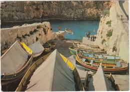 Malta G.C. Wied Iz Zurrieq - ( 5c Olympic Stamp 1976) - Malta