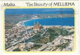 Malta - The Beauty Of Mellieha - Aerial View - Malta