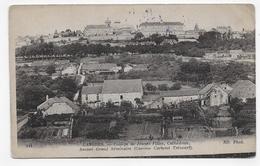 (RECTO / VERSO) LANGRES EN 1915 - N° 321 - COLLEGE DE JEUNES FILLES - CATHEDRALE - CASERNE CARTERET TRECOURT - CPA - Langres