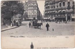 F75-140 PARIS - Boulevard De Courcelles Et Rue Levis - Andere