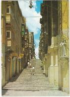 Valletta - Streets Of Steps - Malta - Malta