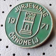 Dance Folklore Folk Festival Crnomelj Jurjevanje SLOVENIA Vintage Pin - Badges