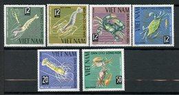 Vietnam Du Nord, Yvert 442/447, Scott 368/373, MNH - Viêt-Nam