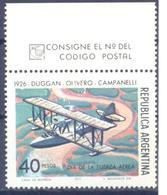 1977. Argentina,  Airplane, Mich.1318, Mint/** - Argentina