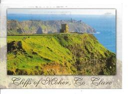 IRLANDE / Falaises De MOHER (Cliffs Of Moher) / CPM Voyagée 1999 / Tachée Marques D'oblitération !!! - Northern Ireland