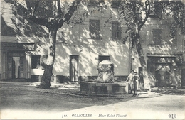 C P A  OLLIOULES Place Saint Vincent - Ollioules