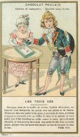 CHROMO CHOCOLAT POULAIN LES TROIS DES - TOM TIT - Poulain
