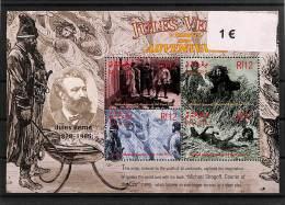 [112476] **/Mnh-Maldives  - Jules Verne, Arts, Tableau - Peinture, Célébrité - Célébrités