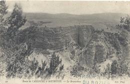 ROUTE DE L'AIGOUAL A MEYRUEIS . LE BRAMABIAU . CARTE NON ECRITE - Meyrueis