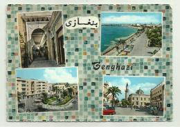 VEDUTE DI BENGHAZI  VIAGGIATA FG - Libya