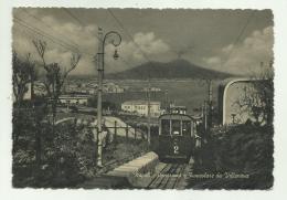 NAPOLI - PANORAMA  E FUNICOLARE DA VILLANOVA   VIAGGIATA FG - Napoli