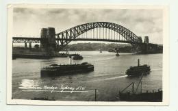 SIDNEY - HARBOUR BRIDGE  VIAGGIATA FP - Sydney