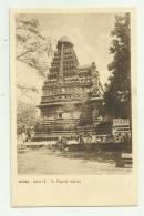 INDIA - PAGODA INDIANA NV FP PONTIFICIO ISTITUTO MISSIONI - India