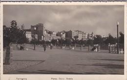 ESPAGNE--RARE---TARRAGONA--paseo Calvo Sotelo---voir 2 Scans - Tarragona