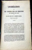 05 HAUTES ALPES QUEYRAS BRIANCONNAIS DURANCE  CONSIDERATIONS SUR LES ANCIENS LITS DES TORRENTS DES ALPES GRAS VERS 1850 - 1801-1900