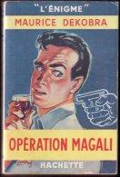OPERATION MAGALI (M. Dekobra)  1951 - Hachette - Point D'Interrogation