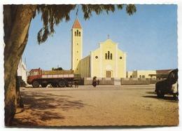 Tobruk - Catholic Church / Chiesa Cattolica / église Catholique -  C1960's Modern-size Postcard - Libya