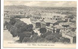NIMES . VUE D'ENSEMBLE DES ARENES . CARTE NON ECRITE - Nîmes
