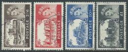 1955-58 GREAT BRITAIN USED CASTLE SG 536a/39a SET OF 4 - 1952-.... (Elizabeth II)