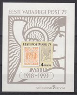 ESTLAND - Michel - 1993 - BL 5 - MNH** - Estonie