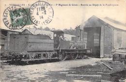 VERSAILLES - Ecole De Chemin De Fer - 5 Régiment De Génie - Rentrée Au Dépot De La Foudroyante - Yvelines - 78 - Versailles